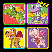 神龙配对游戏——由女孩专属游戏公司出品 (Dragons Matching Game by Games For Girls, LLC)