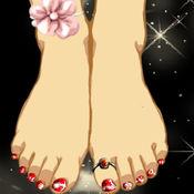 可爱的女神脚趾