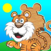 为孩子们可爱的拼图 - 学步益智游戏,儿童学龄前学习 +