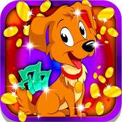 可爱的狗插槽:有乐趣人类最好的朋友,并赢得很多日常奖品