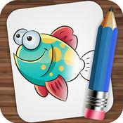 绘制海洋动物