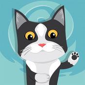 Swipea画画游戏:猫,孩子着色书