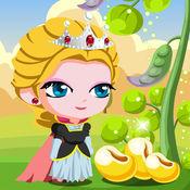 冰雪女王吃豆豆-女王大冒险-冰雪女王冒险小游戏