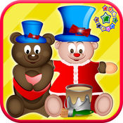 Teddy bear coloring book  - 儿童和幼儿的教育游戏