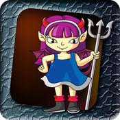 有点怪异的少女 - 可怕的万圣节怪物跳线 LX