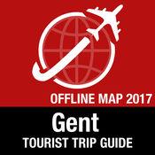 根特 旅游指南+离线地图