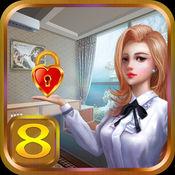 密室逃脱:逃出豪华房间8(简单冒险游戏)
