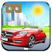 VR 城市高速公路赛车快速交通 - 真正的游戏