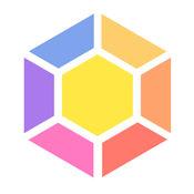 1010彩色方块四边形+六边形双模式增强版