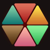 1010三角网格固定拼图块