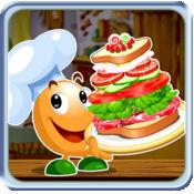 塔三明治免费 - 食品制作游戏