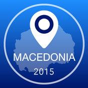 马其顿离线地图+城市指南导航,旅游和运输