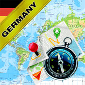 德国 - 离线地图和GPS导航仪1.8