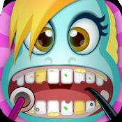 小马魔法泡泡糖友谊化妆了牙医游戏