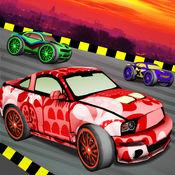 非法赛车游戏 - 3D赛车游戏的孩子