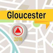 格洛斯特 离线地图导航和指南1
