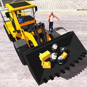 城市垃圾车和翻斗车3D 2