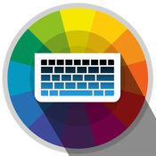 键盘制造商 - 自定义键盘Creator允许自定义的按键,字体,背景