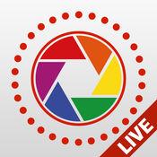 Live Pictures Cam和gif照片制作器:在Facebook、Twitter和Instagram上分享