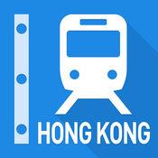 香港铁路线图 - 九龙、新界、港岛