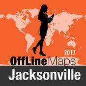 杰克逊维尔 离线地图和旅行指南