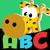 玩动物字母 - 第一个拼图应用学龄前儿童 免费