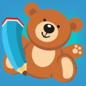 图画书 儿童玩具:有很多照片像一个玩具,男孩, 火箭 ,玩具熊,球,汽车和飞机。游戏 学习 幼儿园,学前班或幼儿园:如何画一幅画