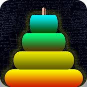 汉诺塔 - 逻辑和数学的益智游戏