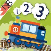 123火车:计数乐趣与互动玩具火车为你的iPad