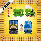 拼图玩具火车幼儿和儿童    教育益智游戏玩具火车 1.0.3