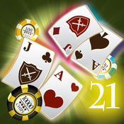 便携式二十一点(免费比赛赌场扑克游戏)