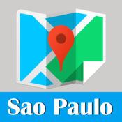 圣保罗旅游指南地铁去哪儿巴西地图 Sao Paulo metro gps m