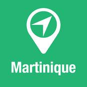 大指南 馬提尼克 地图+旅游指南和离线语音导航 1