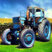 拖拉机 农场 收成 : 雪 犁 驱动程序 HD