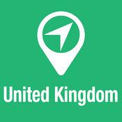 大指南 英国 地图+旅游指南和离线语音导航 1