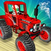 拖拉机顶部赛车 - 3d拖拉机特技赛车游戏