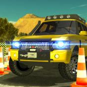 吉普车驱动器城市交通公园停车场模拟器 Jeep Driving Parking Simulator