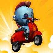 交通摩托骑自行车骑手 - 赛车游戏极端赛车模拟器