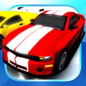 赛车益智游戏集合中3D的儿童和青少年与肌肉街道杆和经典赛车潜行高清