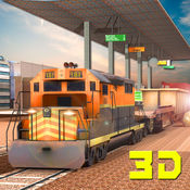 3D货物列车起重机模拟器