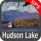湖 哈德森 Indiana - GPS 地图 航海家