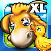 农场动物拼图为幼儿和幼儿园的孩子们豪华 1