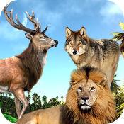 野生动物狙击丛林狩猎野生动物园