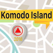 Komodo Island 离线地图导航和指南 1
