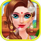 印度化妆和装扮 - 化妆游戏 1