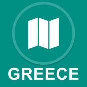 希腊 : 离线GPS导航 1