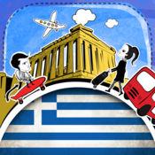 希腊语字典 - 带有抽认卡和母语发音的免费离线短语手册 3.