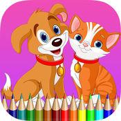 猫狗图画书 - 学习绘画为孩子 1
