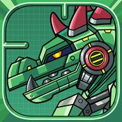 机甲战队:鳄鱼头 - 双人游戏大全,儿童组装游戏对战 1