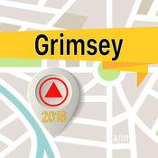 Grimsey 离线地图导航和指南 1